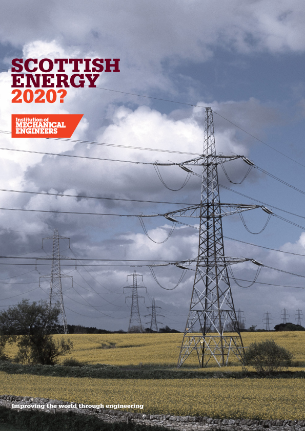 Scottish Energy Report front cover