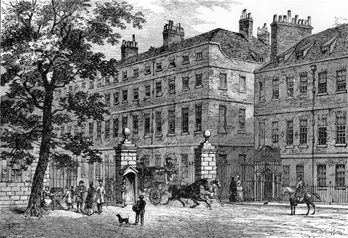 Storey's Gate as in originally appeared, 1820