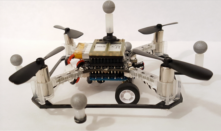 Drones with wheels could be a faster route to flying cars Image
