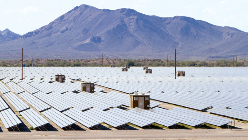 Top 10 largest solar photovoltaic plants in the world - Agua caliente solar ...