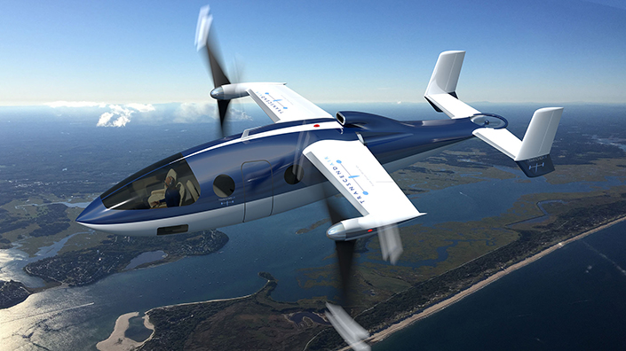 Transcend Air and BRS Aerospace hope the Vy 400 will be the 'safest VTOL aircraft in history' (Credit: Transcend Air)