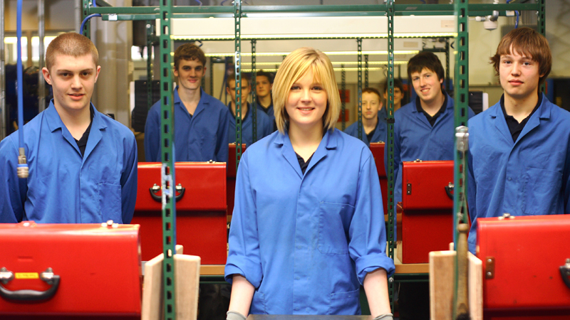 Career boost: Apprenticeships can be a great launchpad for young engineers