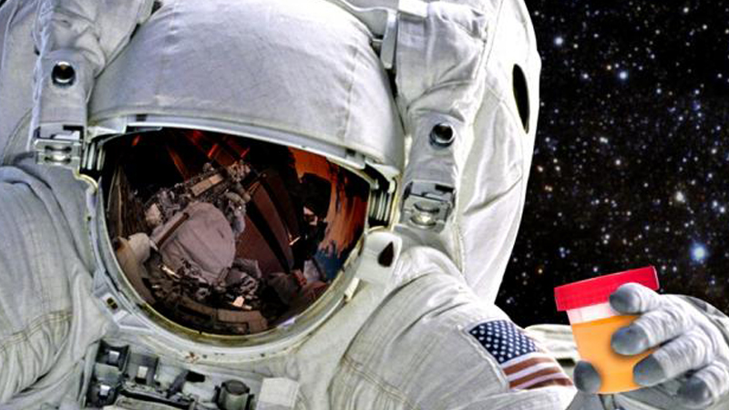 Scientists want to make plastics in space from recycled human waste Image