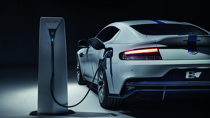Older brands such as Aston Martin are also working on electric supercars (Credit: Aston Martin)