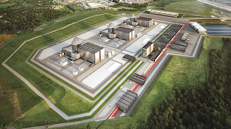 An artist's impression of the Moorside power station (Credit: NuGeneration)