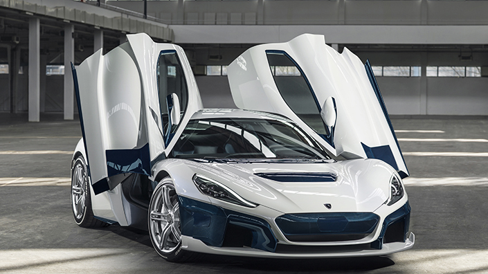 Croatian company Rimac has pioneered the C_TWO electric car (Credit: Rimac)