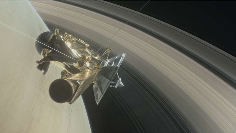 Cassini plunge: Can you fly through a gas giant? Image