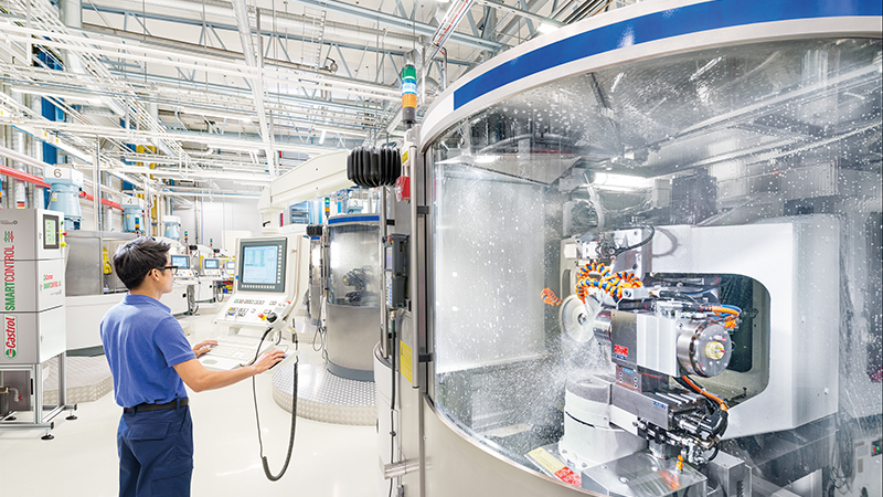 'Self-cleaning, self-calibrating and fully automated': fluid feedback from Industry 4.0