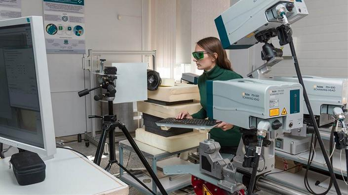 In the lab of the Institute of Strength Physics and Materials Science SB RAS (Credit: Vladimir Beloborodov)