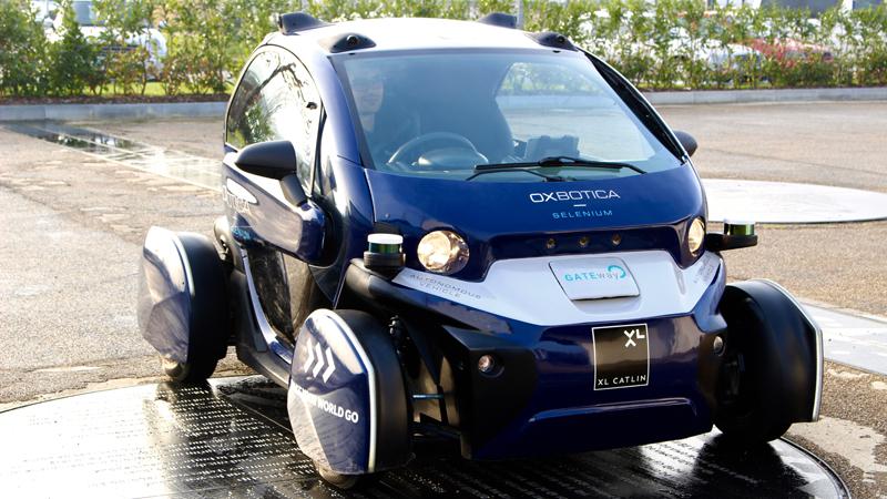 Oxbotica's autonomous Geni vehicle (Credit: Oxbotica)