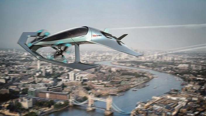 The Volante Vision luxury flying taxi concept (Credit: Eleanor Bentall/ Aston Martin)