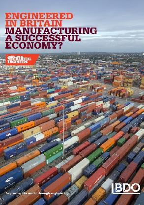 Engineered in Britain - manufacturing a successful economy