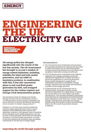 Enginering the UK Electricty Gap thumb