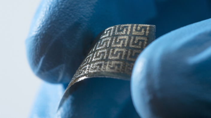 A material made by additive manufacturing (Credit: University of Nottingham)