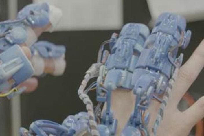 Exoskeleton prototype. Credit: UWE Bristol