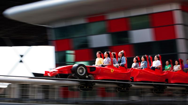 Worth a Detour: Ultimate acceleration at Ferrari World Image