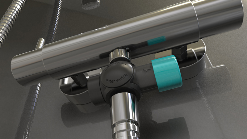 Tiny gearbox helps monitor domestic water useImage