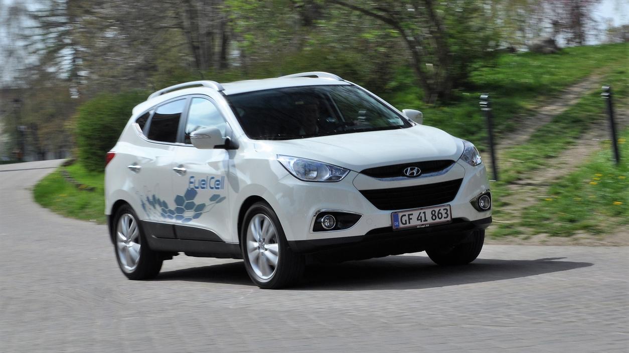 Hyundai's ix35 hydrogen car (Credit: iStock)