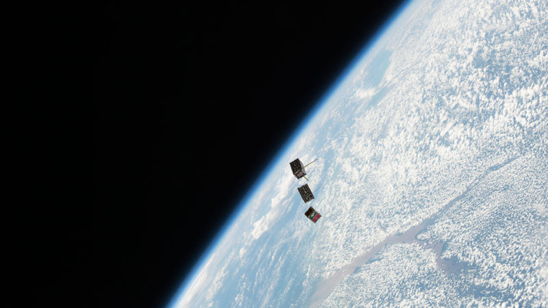 Rise Of The CubeSat A New Frontier DIY Space Research