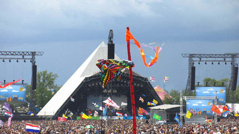 Glastonbury, where the Pee Power urinal harvested energy from urine (Credit: iStock)