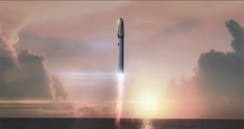 SpaceX unveils plan for Mars colonisation Image