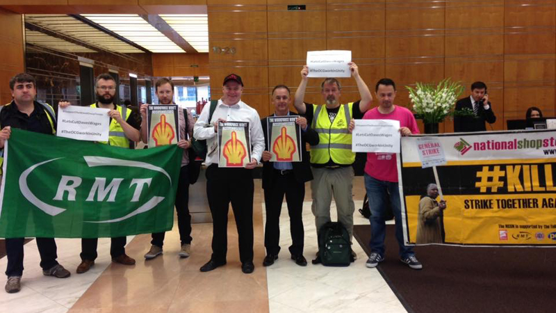 North Sea workers hold first strike in 28 years Image