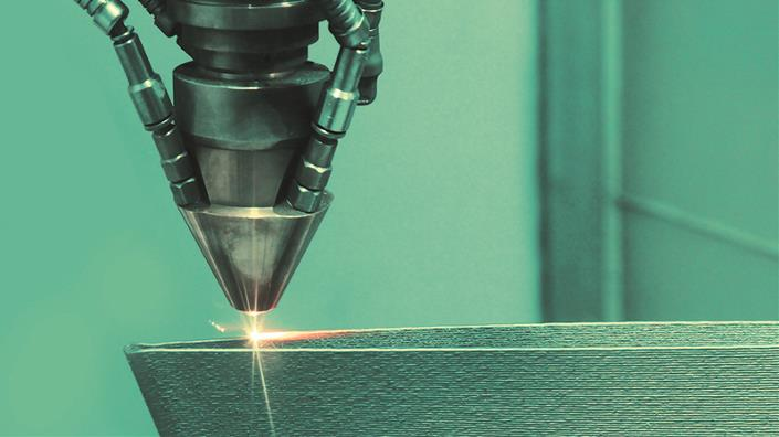 Methods such as laser sintering are transforming manufacturing processes (Credit: Shutterstock)