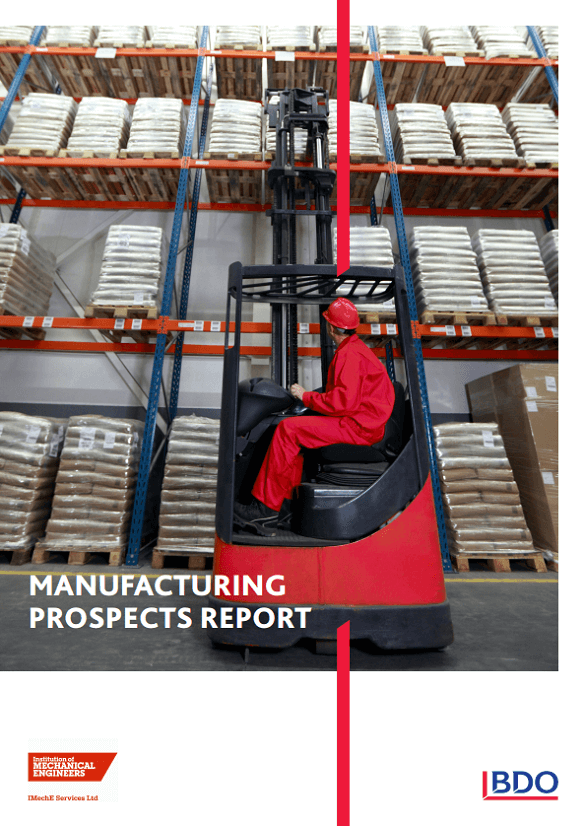 Manufacturing prospects report