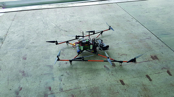Drones can spot cracks or corrosion in structures faster than people can