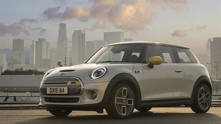 The Mini Electric has a range of about 210km (Credit: BMW Group)