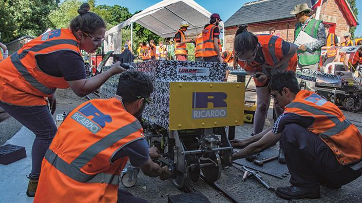 The IMechE's Railway Challenge fosters new talent