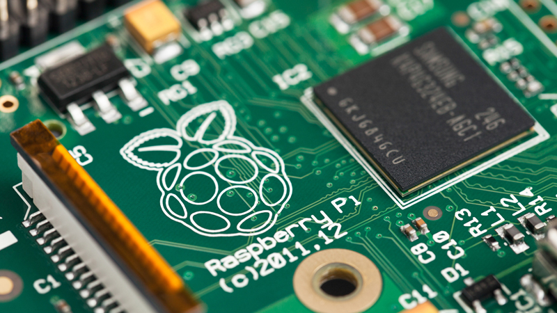 The Raspberry Pi (Credit: robtek/ iStock)