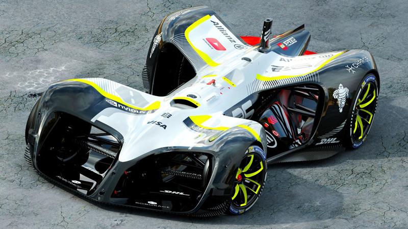 Roborace unveils first self-driving racing carImage