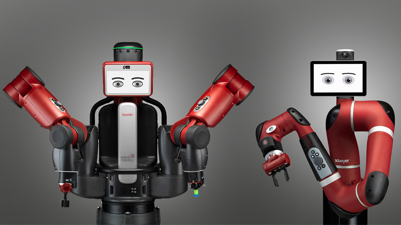 Baxter and Sawyer are two of the most popular collaborative robot models (Credit: Rethink Robotics)