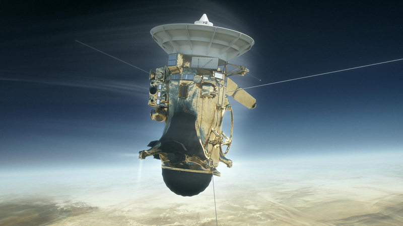 Cassini starts its five final orbits around Saturn before final plunge  Image