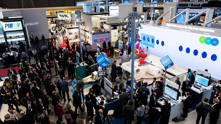 The Hannover Messe trade show (Credit: Shutterstock)