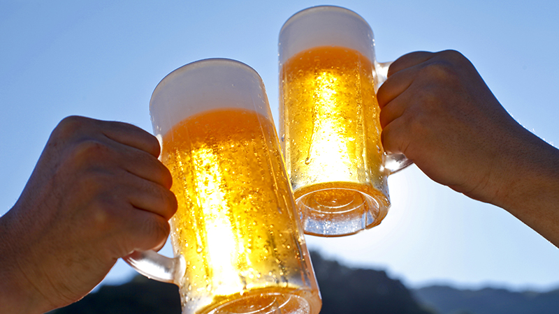 Cheers! Sunshine and beer help create hydrogen for fuel and chemical industry