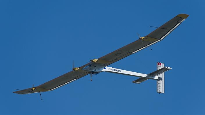 A solar-powered aircraft (Credit: Shutterstock)