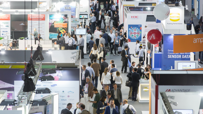 Searching for answers at the IoT Solutions World Congress in Barcelona (Credit: IoT Solutions World Congress)