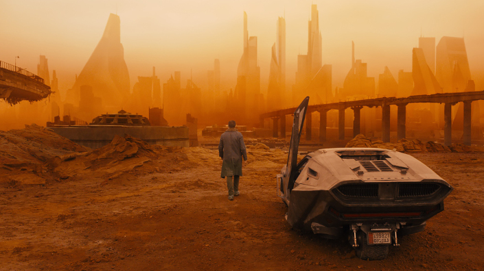 Will new technology deliver utopia or the desolate wasteland seen here in Blade Runner 2049? (Credit: iMovieDBstills)