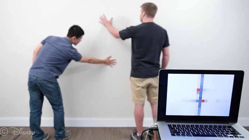 These walls can talk – conductive paint makes surfaces smarterImage