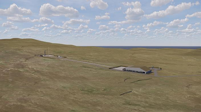 How the Space Hub in Sutherland, Scotland, could look (Credit: NORR Architects HIE)