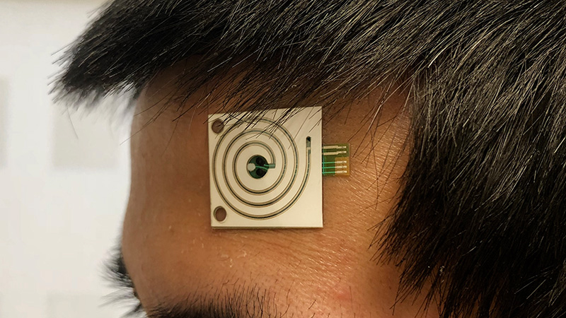 Mass-produced wearable sensor can tell what's in your sweat Image