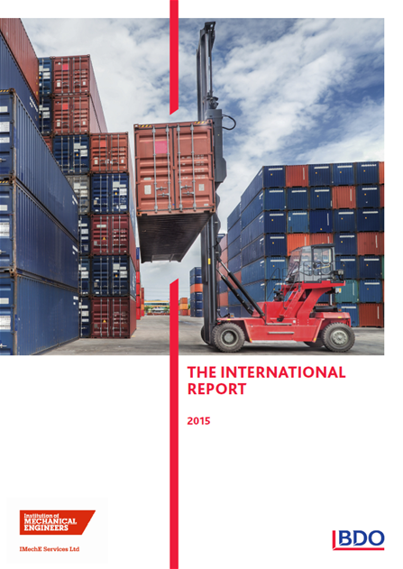The International Report 2015 cover