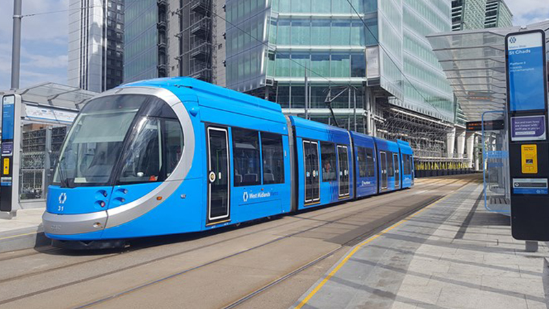 More battery powered trams coming to West Midlands Image