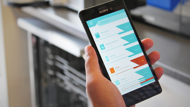 Smart meter tracks power consumption of individual devices Image
