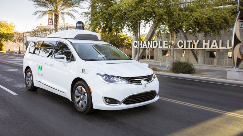 US town gets free rides in Waymo's driverless carsImage