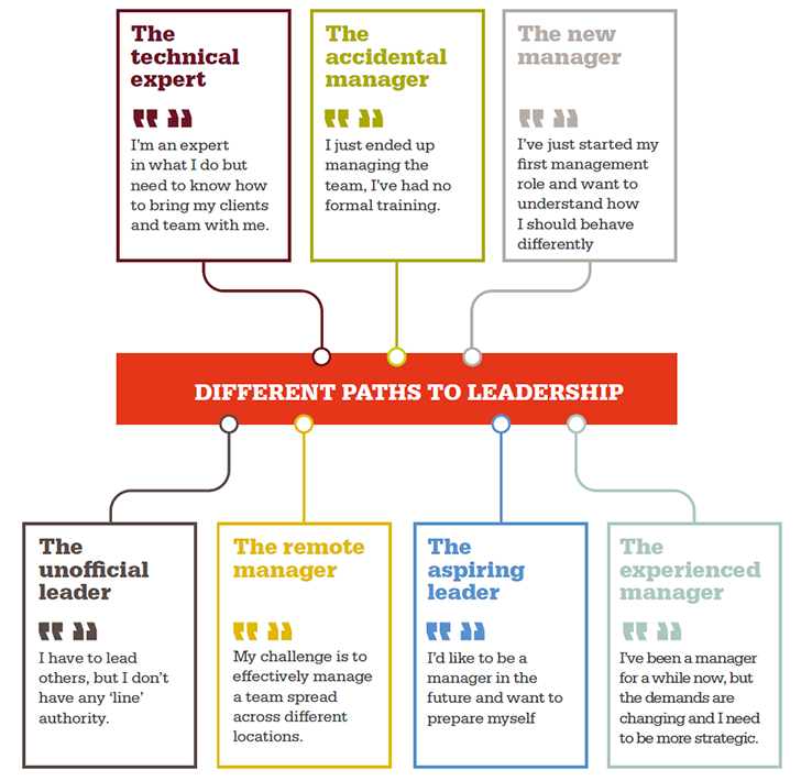 Common paths to leadership for engineers