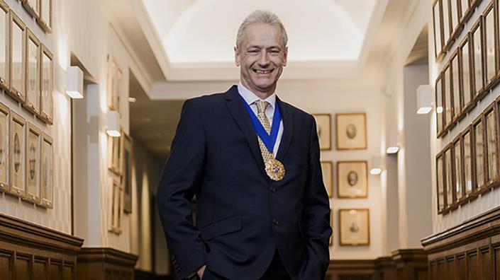 Terry Spall, 135th IMechE President