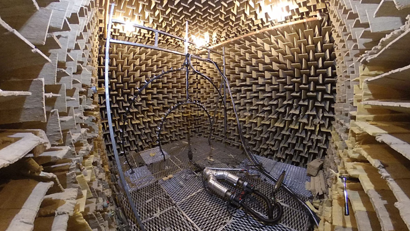 2018 winning image - Acoustic Anechoic Chamber by Carl Howard